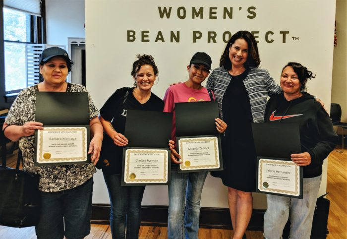 Dress for Success at Women's Bean Project
